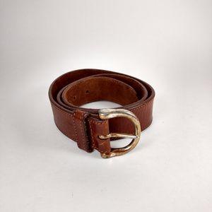 Eddie Bauer Brown Leather belt
